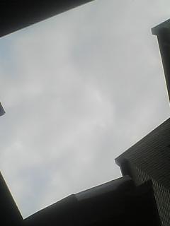 昨日と今日の空?