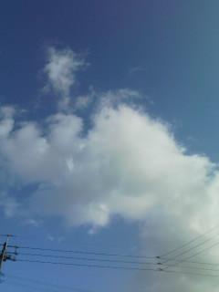 曇が美味しそう(^O^)