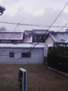 雪( ̄○ ̄;)
