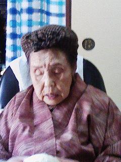 98歳のお婆ちゃん