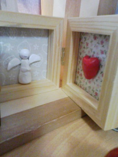 紙粘土の天使