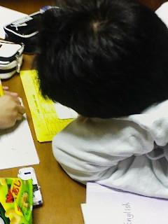 勉強してるふり
